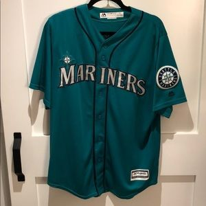 Edgar Martinez Retro Mariners Jersey